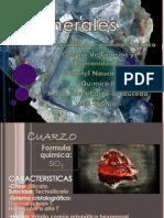 Minerales. Quimica