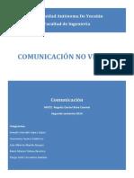 Comunicacion No Verbal (Resumen)