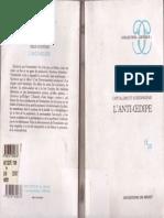 Deleuze Et Guattari - L'Anti-Oedipe