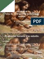 2 El Genoma Humano y Su Estudio.