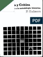 Salmon Pierre - Historia Y Critica - Introduccion a La Metodologia Historica