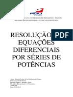 Resolução de Equações Diferenciais Elementares