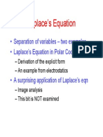 Solving Laplace Equation