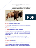 How the Buffalo Was So Important to the Native American