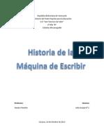 Hist, Maquina de Escribir