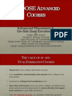 advanced courses presentation ap and on-site dual enrollment 2014-2015