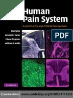 The Human Pain System Lenz Casey Jones (Cambridge 2010)BBS