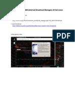 Tutorial Install IDM (Internet Download Manager) Di Kali Linux