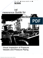 Aws - Visual Inspection of Pressure Vessel and Pressure Piping