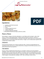 Vovó Palmirinha – Pão da Vovó