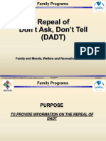 Repeal Dadt Final