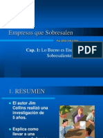 Empresas Que Sobresalen - Cap. 01