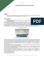 Control Luces Led Puerto Paralelo y Programa Java