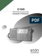 Eton E100_Manual_1206