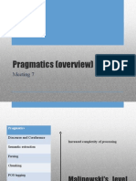 Pragmatics (Overview)