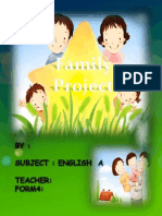 English a Project on Family