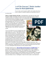 The Last Days of Che Guevara Marks Another Milestone for Red Quill Books