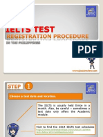 IELTS Test Registration Procedure Philippines-PDF