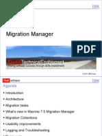 2012 08 07 STE Migration Manager