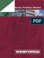 Webforge Access Systems Brochure Handrailing