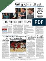 The Daily Tar Heel for Feb. 5, 2014