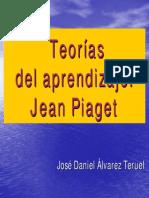 Teorias Del Aprendizaje. Piaget