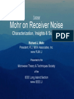 Mohr on Receiver Noise