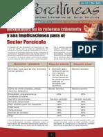 Reforma Tributaria y sus Implicaciones en el Sector Porcícola