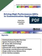 ADC Driver Design