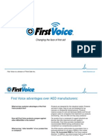 Reducing Costs with First Voice