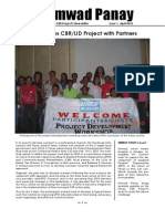 UMWAD Project Newsletter April 2010