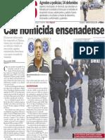Policiaca  5 de febrero 2014