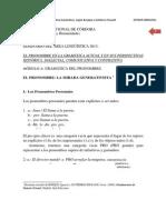 4 El pronombre en la gramática generativa según Bosque y Gutierrez Rexach