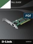 D-Link DFE-530TX+ Ethernet Desktop Adapter Manual