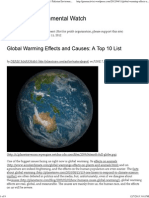 Global Warming Effects and Causes_ a Top 10 List _ Pakistan Environmental Watch