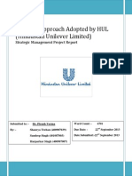 Strategic Approach Adopted by HUL