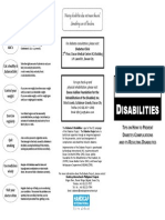Diabetes and Disabilities (English)