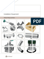 Sanitary Fittings and Basic Valves Catalog