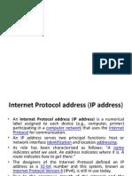 Allocating an Ip Address Computer