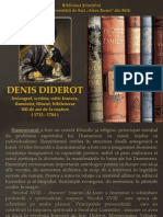 Denis Diderot lexicograf, scriitor, critic francez, iluminist, filozof,bibliotecar 300 de ani de la nastere ( 1713 - 1784 )