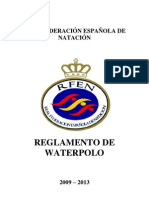 Reglamento Waterpolo 2009-2013