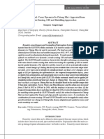 Land-Use- Land-cover Dynamics in Chiang Mai Appraisal From Remote Sensing, Gis and Modelling Approaches