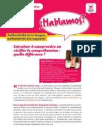 ¿Hablamos? - Newsletter Février 2014