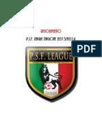 Regolamento PSF League