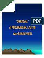 Emd166 Slide Survivaldi Pegunungan - Lautan Dan Gurun Pasir
