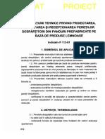 P 113 - 1981 Proiect Ex Si Receptionare Pereti