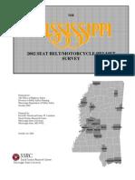 2002 Seatbelt Final Report