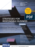 Ethical Corp Sustainability Reports Catalogue 2009