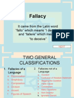 Fallacy and Its Kinds