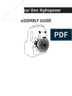 Hydroelectric Assembly Guide